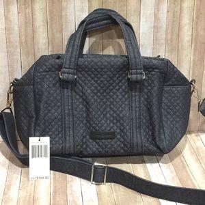 Vera Bradley Bags - Vera Bradley Iconic 100 Handbag Denim Navy